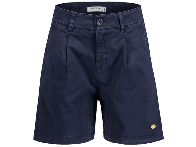 Maloja BaldrianM. Shorts Women, blauw